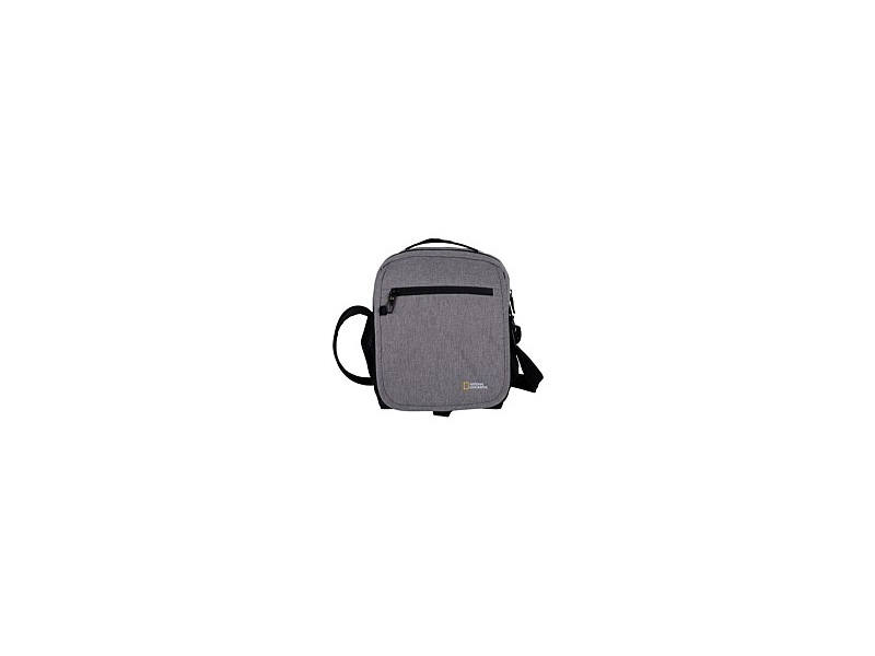 National Geographic Anti Theft Cross Body Tote Grey