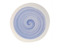 Briscoes NZ Arthouse Tide Blue Dinner Plate 26.5cm