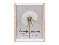Briscoes NZ Brooklyn Hereford Photo Frame Wood & White 8x10