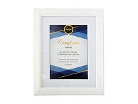Briscoes NZ Brooklyn Certificate Frame White A4