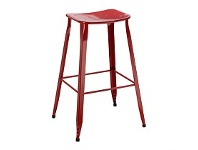 Briscoes NZ Metro Barstool Red