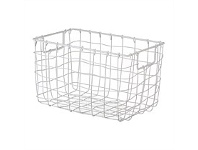Briscoes NZ Space Craze Storage Basket White Small