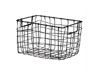 Briscoes NZ Space Craze Storage Basket Black Medium