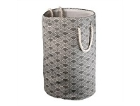 Briscoes NZ Lida Rieti Laundry Hamper Dark Grey