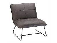 Briscoes NZ Luna Occasional Chair Charcoal