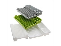 Briscoes NZ Koopman Foldable Dish Drainer Assorted