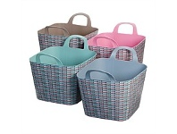 Briscoes NZ Koopman Flexi Bucket Rattan Assorted 36L