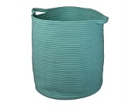 Briscoes NZ Lida Porto Laundry Hamper Light Green Small