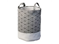 Briscoes NZ Lida Cristo Laundry Hamper Dark Grey Medium