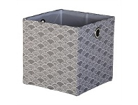 Briscoes NZ Lida Rieti Storage Basket Foldable Dark Grey