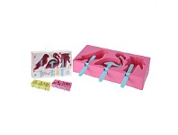 Briscoes NZ Ice Block 3 Mould Set Assorted