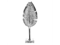 Briscoes NZ Feather Standing D?cor Silver 50cm