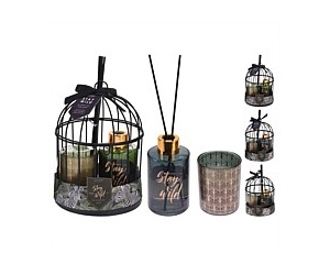 Stay Wild Aroma Bird Cage Gift Set Assorted