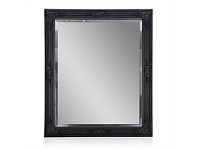 Briscoes NZ Brooklyn Mason Wall Mirror Black 75x90cm