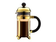 Briscoes NZ Bodum Chambord Coffee Plunger Gold Coloured 3 Cup