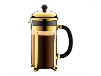 Briscoes NZ Bodum Chambord Coffee Plunger Gold Coloured 8 Cup