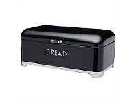 Briscoes NZ KitchenCraft Lovello Bread Bin Black 42x22x19cm