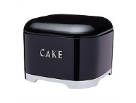 Briscoes NZ KitchenCraft Lovello Cake Tin Black 26x19.5cm 1.5L