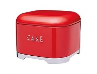Briscoes NZ KitchenCraft Lovello Cake Tin Red 26x19.5cm 1.5L