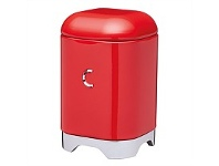 Briscoes NZ KitchenCraft Lovello Coffee Canister Red 11x18cm 1.5L