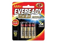 Briscoes NZ Eveready Gold AAA 4pk A92BP4