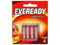 Briscoes NZ Eveready Heavy Duty Red AAA 4pk 1012BP4