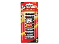 Briscoes NZ Eveready Super Heavy Duty AA 10pk 1215HP10