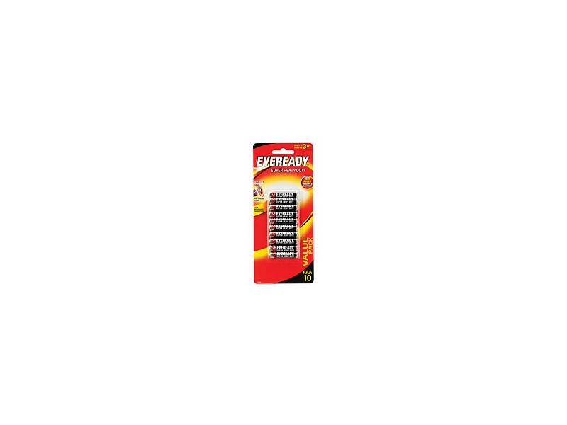 Eveready Super Heavy Duty AAA 10pk 1212HP10