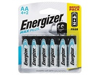 Briscoes NZ Energizer Max Plus AA 4+2PK E3013967600