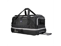 Briscoes NZ Skyway Newhalem Rolling Duffle Black 78cm