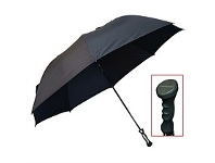 Briscoes NZ Peros XXL Hurricane Umbrella Black