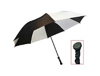Briscoes NZ Peros XXL Hurricane Umbrella Black/White