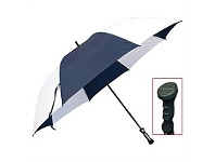 Briscoes NZ Peros XXL Hurricane Umbrella Navy/White
