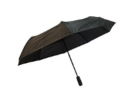 Briscoes NZ Peros Folding Director Umbrella Black