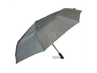 Briscoes NZ Peros Folding Director Umbrella Charcoal