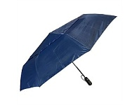 Briscoes NZ Peros Folding Director Umbrella Navy