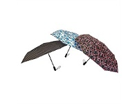 Briscoes NZ Peros Folding Director Umbrella Patterned Assorted