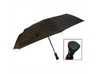 Briscoes NZ Peros Folding Bluetooth Umbrella Black