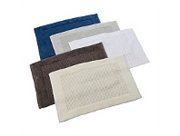 Briscoes NZ Willow Bay Jacquard Nicole Bathmat Assorted