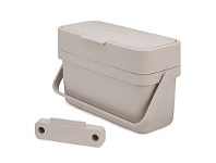 Briscoes NZ Joseph Joseph Compo Food Waste Caddy Ivory 4 Litre