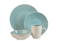 Briscoes NZ Thomson Luna Aqua Dinnerset 16 Piece