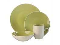 Briscoes NZ Thomson Luna Lime Dinnerset 16 Piece