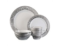 Briscoes NZ Thomson White Birch Dinnerset 16 Piece