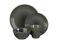 Briscoes NZ Thomson Angora Steel Dinnerset 16 Piece