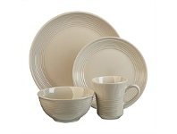 Briscoes NZ Thomson Angora Sand Dinnerset 16 Piece