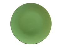 Briscoes NZ Tablefair Solid Colour Green Coupe Dinner Plate 25.4cm