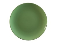 Briscoes NZ Tablefair Solid Colour Green Coupe Side Plate 19cm
