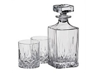 Briscoes NZ RCR Opera Whiskey Decanter Set 3 Piece