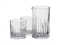 Briscoes NZ RCR Timeless Tumbler & Mixing Glass Set 7 Piece
