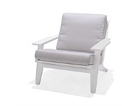 Briscoes NZ Coastal Classic Stockton Outdoor Sofa Chair White Finish